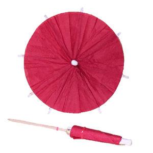 Red Cocktail Umbrella